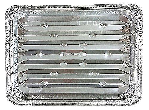 Disposable Aluminum Foil Broiler Baking Cooking Pan - HFA REF  333 25