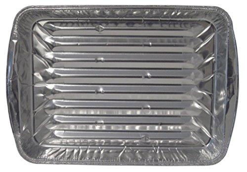 Durable Packaging Disposable Aluminum Broiler Pan Large Pack of 500