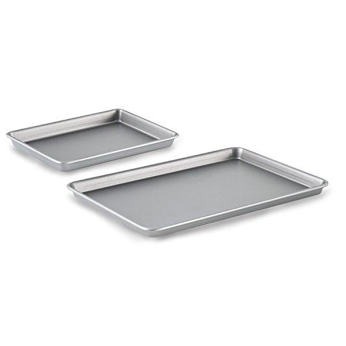 Calphalon Nonstick Bakeware Brownie Pan and Baking Sheet 2-Piece Set