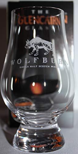WOLFBURN LOGO GLENCAIRN SINGLE MALT SCOTCH WHISKY TASTING GLASS
