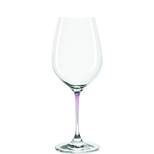 Leonardo L018965R La Perla Red and White Wine Glass 15 ounce Purple
