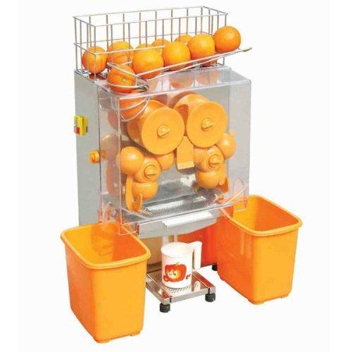 OrangeA Orange Juicer Orange Squeezer Machine Citrus Juicer Electric Fruit Juicer Machine Drink Shop Commercial Auto Feed Stainless Steel