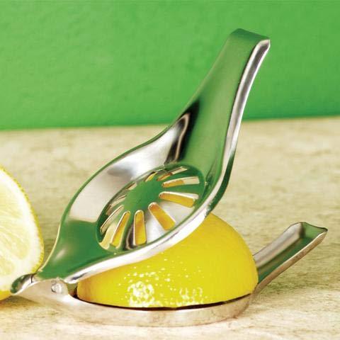 Jean-Patrique Stainless Steel Citrus Juicer  Professional Kitchen Lemon Citrus Juicer Squeezers Manual