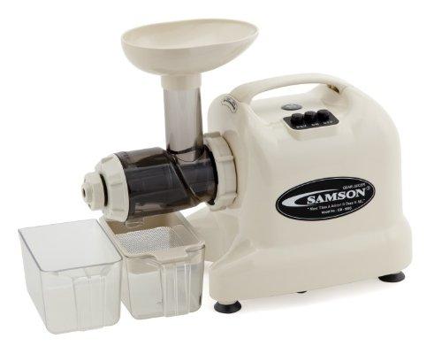 Samson - Advanced Multi-Purpose Wheatgrass Juicer - IVORY