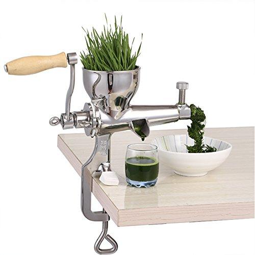 Vogvigo 100 Stainless Steel Manual Wheatgrass Juicer Fruit Citrus Juice Extrator