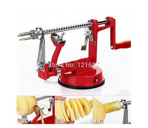 3in1 Fruit Tools Apple Slinky Machine Peeler Fruit Cutter Slicer Kitchenware Apple Peeling Machine