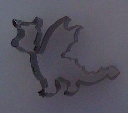 Städter Dragon Cookie Cutter Stainless Steel 105 CM