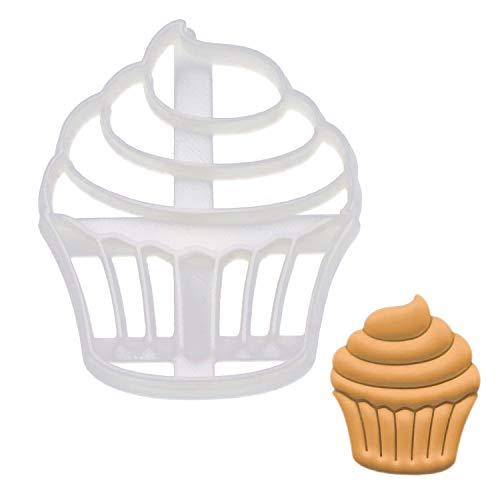 Cupcake cookie cutter 1 piece - Bakerlogy