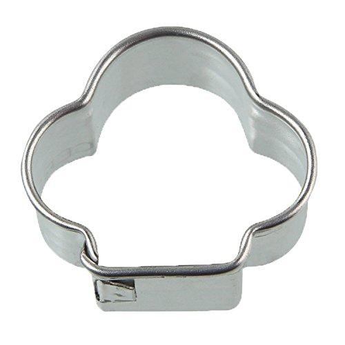 Zenker 7755 Patisserie Clover Cookie Cutter Silver 138 x 122 x 1