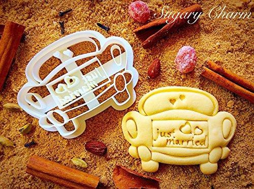 Wedding Car cookie cutter
