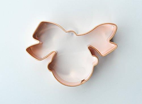 ecrandal Christmas Bell copper cookie cutter