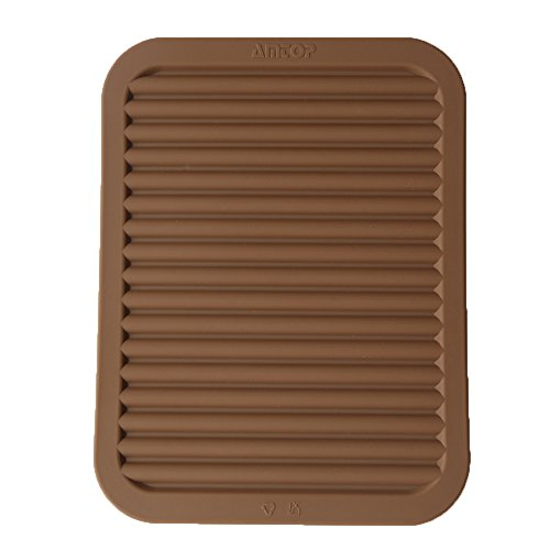 9 x 12 Silicone Pot Holder Trivet Mat Baking Gadget Kitchen Table Mat Silicone Drying Mat Draining Board - Waterproof Heat Insulation Non-SlipTrivet Tableware Pad Coasters Coffee