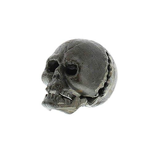 HomArt Vintage Style Cast Iron Skull Bottle Opener