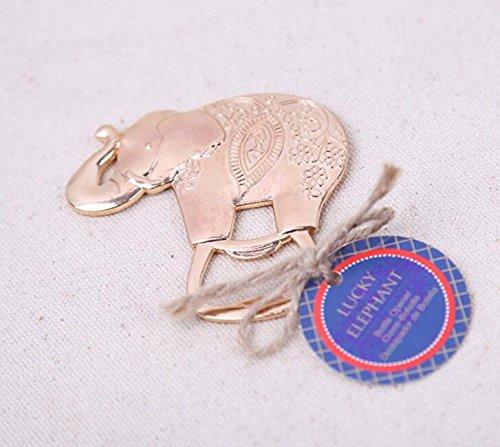96pcs Lucky Elephant Bottle Opener For Wedding Party Favor