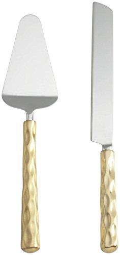 lenox TRURO GOLD Cake Knife and Server Set Gold