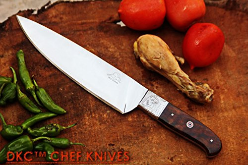 SALE DKC-198-440c ZEN CHEF MASTER 440 CStainless Steel Chef Kitchen Knife Handmade Knife 124 oz 12 Inches Long