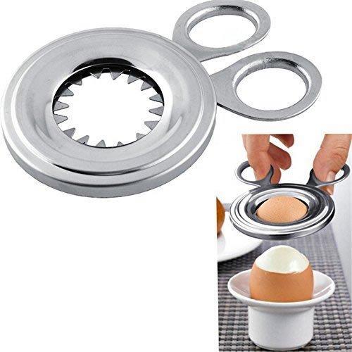 Generic Egg Topper Cutter Clipper Stainless Kitchen Gadget