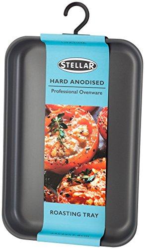 Stellar Hard Anodised Medium Roasting Tray