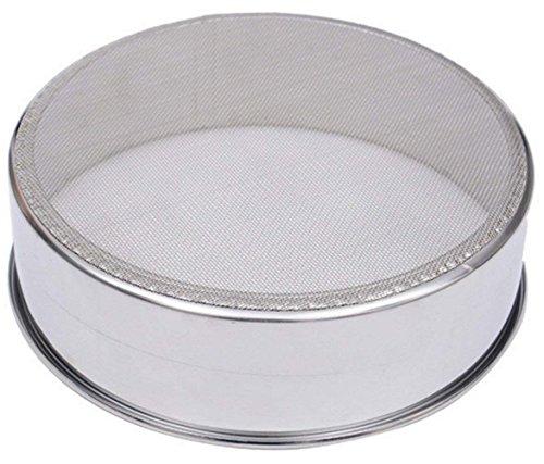 VANLAN 6 Inch 188 60 Mesh Sieve Mesh Flour Sifter Professional Round Stainless Steel Flour Sieve