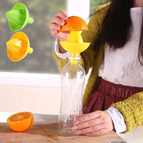 yanQxIzbiu Commercial Manual Juice Squeezer Hand Juicer Citrus Orange Squeezer for Orange Lemon Juice Squeezer Fruit Citrus Juicer Vegetable Extractor Tool Random Color