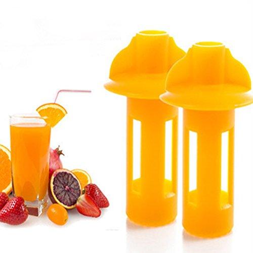 Bingirl Fruits Squeezer Manual Orange Juicer Reamers for Orange Lemon Pear Kitchen