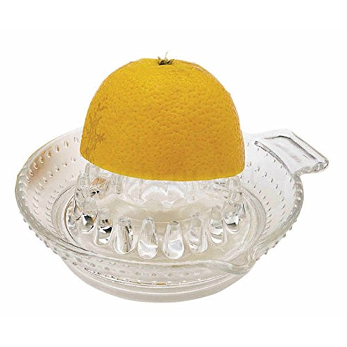 Kitchen Craft Glass Lemon Citrus Juicer Pack of 2