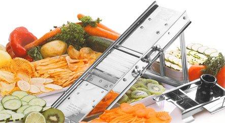 Bron Coucke Stainless Steel Classic Chefs Mandoline Model 20638CHB