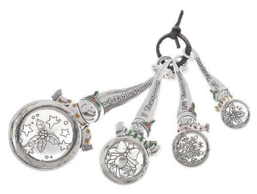 Ganz Measuring Spoons - Snowmen - Ornaments Gifts Christmas EX28044-GANZ