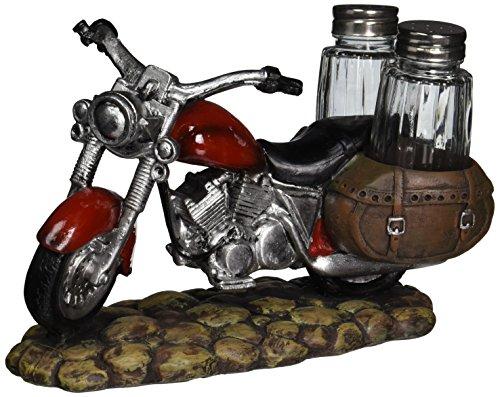 Indian Handicrafts Resin Motorcycle Salt and Pepper Holder