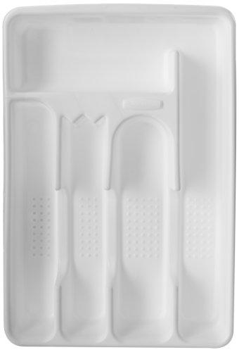 Rubbermaid Silverware Cutlery Tray White