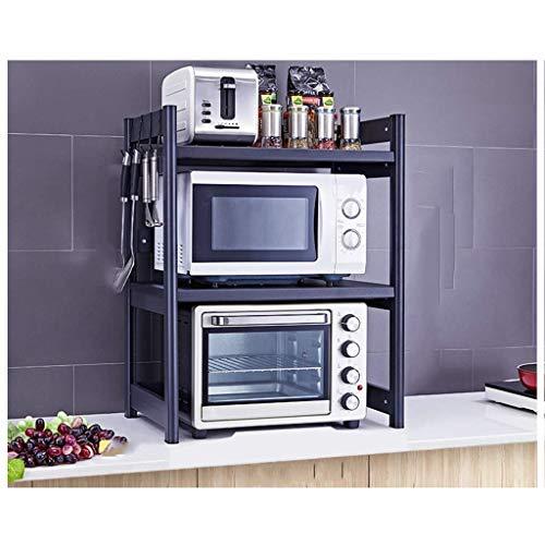 SED Kitchen Supplie Cutlery Racks2-Layer Shelf Microwave Oven Shelf Kitchen Rack Home Table Storage ShelfA1