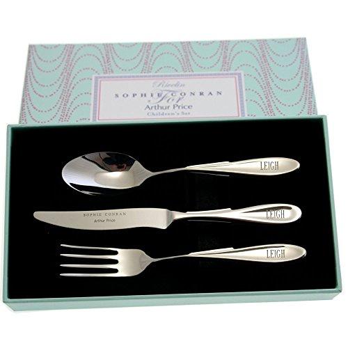 FootprintdirectCoUk Personalised Sophie Conran Childrens Cutlery Set