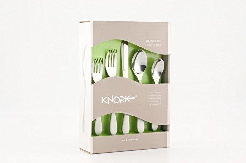 Knork Flatware 20 Piece Set Duo 18/10
