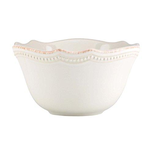 Lenox French Perle Bead Fruit Bowl White