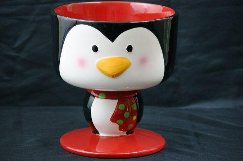 Penguin Ceramic Trifle Bowl 8 Diameter Serving Bowl