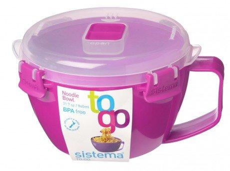 Sistema Noodle Bowl to Go 317 Pink 9 oz940 ml