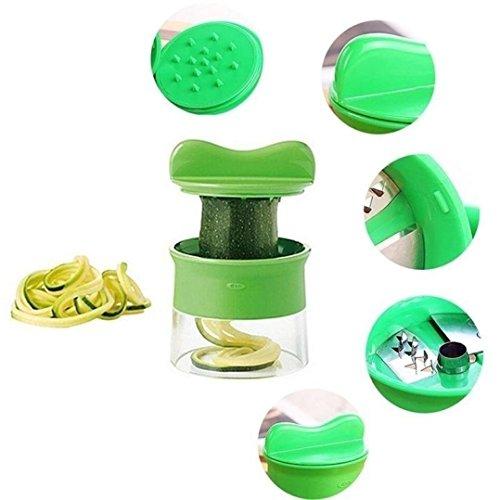 UMFun Useful Spiral Vegetable Fruit Slicer Cutter Grater Twister Peeler Kitchen Gadgets Tools