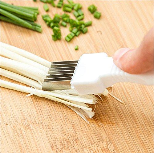 Green Onion Cutter Vegetable Onion Cutter Slicer Peeler Chopper Shredder Kitchen Easy Tool Gadget