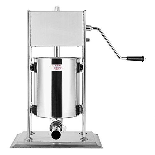 TttopKing Sausage Filler Stuffer Machine 10L Sausage Maker Stainless Steel Sausage Filler Machine For Commercial