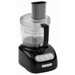 KitchenAid KFP720OB 7-Cup Food Processor with 3-Cup Mini Bowl Onyx Black