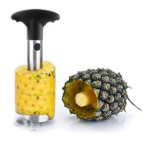 ATOROR Silver Stainless Steel Pineapple Corer Cutter Slicer Dicer Peeler Fruit Tool