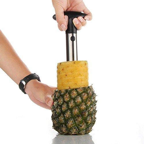 Knife Kitchen Tool Stainless Fruit Pineapple Corer Slicer Peeler Cutter Parer Best Selling Pineapple Slicers