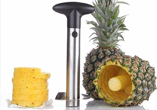 Stainless Steel Fruit Pineapple Peeler Corer Slicer Cutter Kitchen Tool