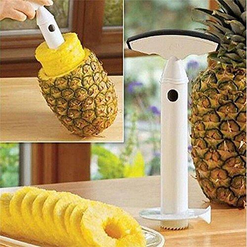 White Fruit Pineapple Peeler Corer Slicer Cutter Kitchen Tool