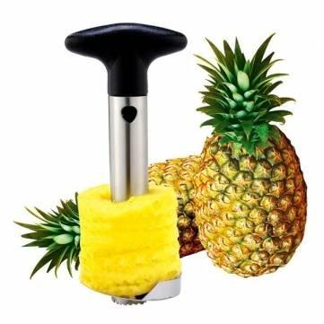 Pakhuis Stainless Steel Fruit Pineapple Corer Slicer Peeler