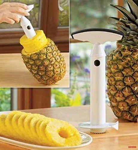 Fruit Pineapple Corer Slicer Peeler Cutter Parer Kitchen Easy Tool Kit