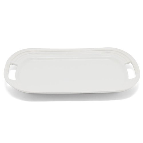 Le Creuset Stoneware 16 Oval Serving Platter White