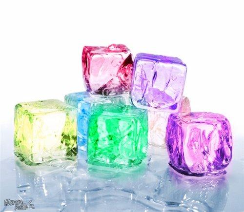 Cubette Mini Ice Cube Trays Set of 2 - WHITE