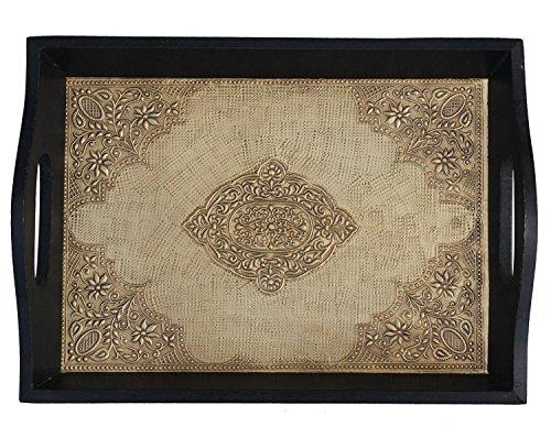 SouvNear Handmade Wooden Service Tray