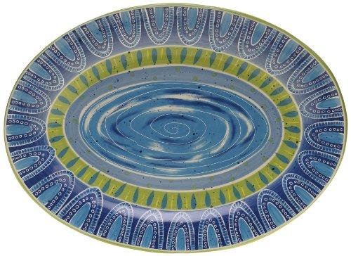 Certified International Tapas Oval Platter 16 by 1175-Inch